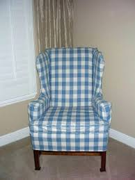 white wing chair slipcover white wingback chair slipcover historicthomaswv com