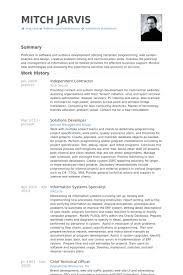 Sample Resume For A Job by Contractor Resume Berathen Com