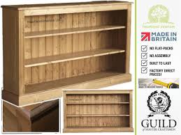 Long Low Bookcase Wood Furniture Home Solid Pine Low Wide Bookcase Design Modern 2017