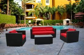 outdoor wicker sofa sectional 5 pieces wicker outdoor