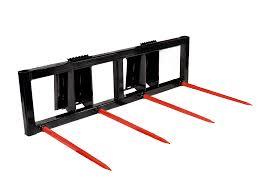 bale spear skid steer attachment jenkins iron u0026 steel