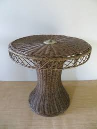 Wicker Accent Table 104 Best Vintage Mid Century Furniture Images On Pinterest Mid