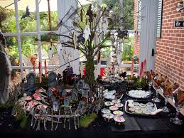 the best and creepiest halloween dessert table ever u2026 the party event