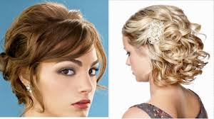 prom hairstyle for short hair youtube
