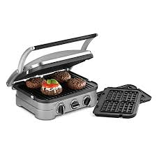 Toaster Press Cuisinart Griddler U0026 Panini Press Bed Bath U0026 Beyond