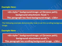div background url introduction to css backgrounds lesson 3