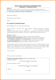 Demand Letter Example Property Damage