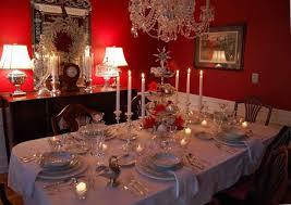 awesome holiday table decorating ideas christmas with wooden table
