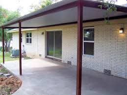 Metal Awnings For Patios Custom Steel Porch Steel Awning Cover New Braunfels San Antonio Tx