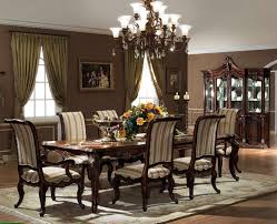 high end dining room sets high end round glass top dining tables