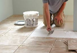How To Lay Tile In A Bathroom Floor Grouting Guide At The Home Depot