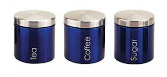 cobalt blue kitchen canisters silver canister set blue and white porcelain canisters green kitchen