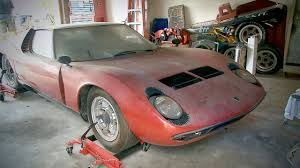 crashed lamborghini for sale 1972 lamborghini espada british barn find best barnfinds