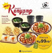 ik cuisine promotion promo paket b di gyu jin teppan gotomalls