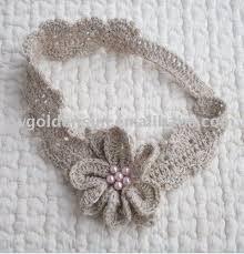 crochet bands 151 best diademas a crochet images on crocheted