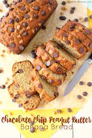 chocolate chip peanut butter banana bread delightful e made