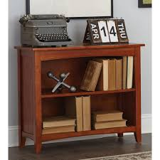 concepts in wood midas cherry open bookcase mi3072 c the home depot