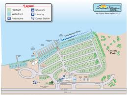 Florida Spring Training Map by Tampa South Rv Resort