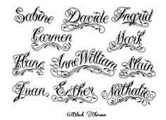 different fonts chicano style tattoo lettering and fonts