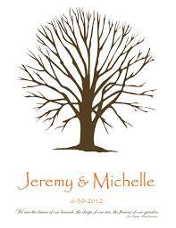 my fingerprint tree weddingbee photo gallery