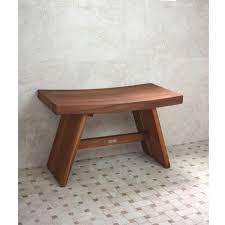 curved teak shower bench u2014 jen u0026 joes design making a teak