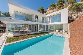Villa Kaufen Mallorca Immobilien Atemberaubende Neue Meerblick Villa In