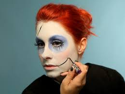 halloween makeup tutorial creepy ragdoll hgtv