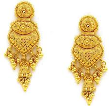 beautiful gold earrings beautiful wedding gold earrings 2014008 stylehitz