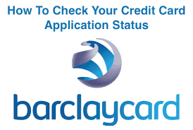 how to check barclay credit card application status