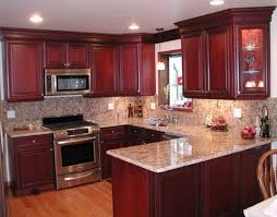 kitchen cabinet cherry paint colors for kitchen with cherry cabinets cosinas pinterest