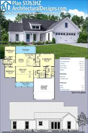best 25 open concept floor plans ideas on pinterest open floor architectural designs exclusive modern farmhouse plan 51763hz has porches front and back a vaulted great
