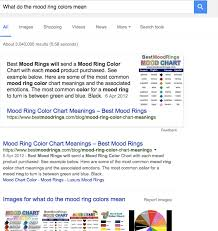 mood ring color chart meanings best mood rings mood ring colors meaning latest different mood ring colors u