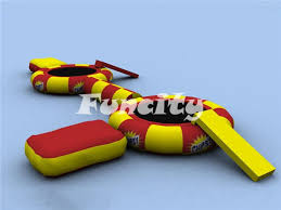lake toys for adults mm thickness pvc tarpaulin inflatable water troline for adults