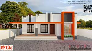 budget house plans 850 sqft budget contemporary style home design kerala house