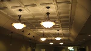 ceiling custom coffered ceiling with lights matched with cream
