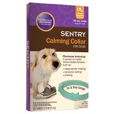 amazon com sentry calming collar for dogs 0 75 oz 3 pack pet