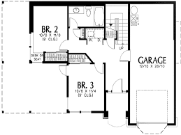l shaped house plans with attached garage desk design most