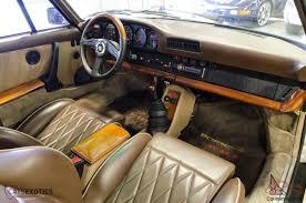 porsche 924 interior 930 turbo custom interior ruf wheels momo parts