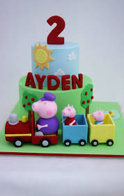 George Pig Cake Decorations 34 Best Peppa Pig Cake Images On Pinterest Birthday Cakes Peppa