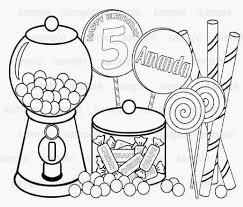 printable candy coloring pages for kids pages hard candy