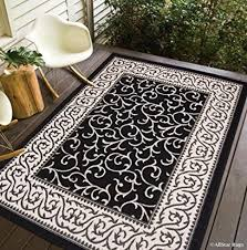 Black And White Outdoor Rug Indoor Outdoor Area Rugs Outdoor Patio Rugs Indoor Outdoor Rugs