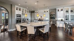 Curved Island Kitchen Designs 35 Large Kitchen Islands With Seating Pictures Designing Idea