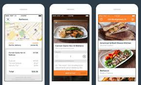 delivery service app square releases caviar restaurant delivery app ii