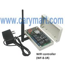 8 channels relay output wireless wifi controller of remote control