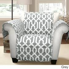 Bottom Of Chair Protectors by Lush Decor Edward Trellis Armchair Furniture Protector Slipcover