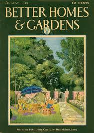 Better Homes And Gardens Summer - jack manley rose better homes and gardens 1929 08 summer