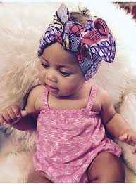baby headwrap baby girl headwrap turban ethnic geo batik print headband