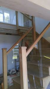 Glass Banister Staircase 41 Best Glass Stair Balustrade Staircases Images On Pinterest