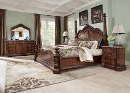 Ashley Furniture Bedroom Vanity Four Poster Bedroom Sets Ledelle Poster Bedroom Set B705 51 71
