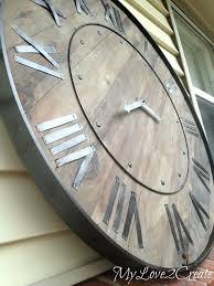 large wall clock oversized clocks homeaccessoriesforus top